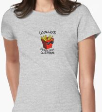 World's Deadliest Weapon (Original) Women's Fitted T-Shirt