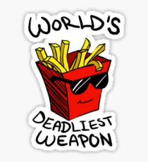 World's Deadliest Weapon (Original) Sticker