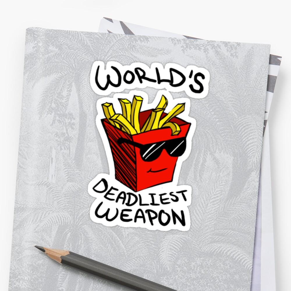 World's Deadliest Weapon (Original) by ChimneySwift11