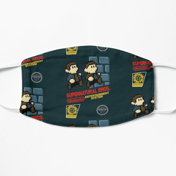 Supernatural Bros. Box Art Mask