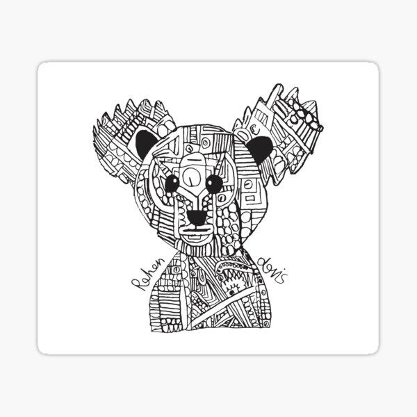 Robot Koala Sticker