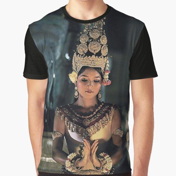 Cambodian Dancer - Aspara Khmer - 01 Graphic T-Shirt