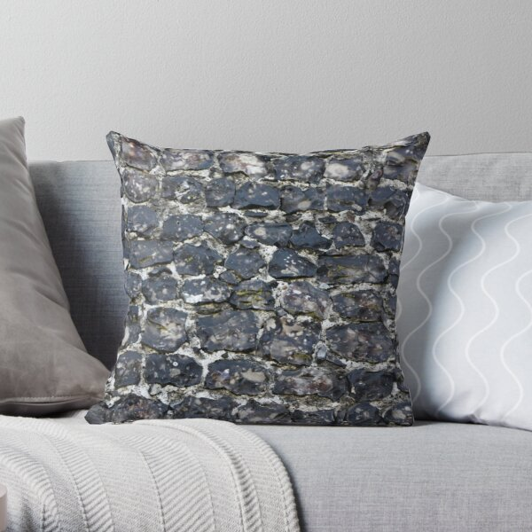 Flint wall Throw Pillow