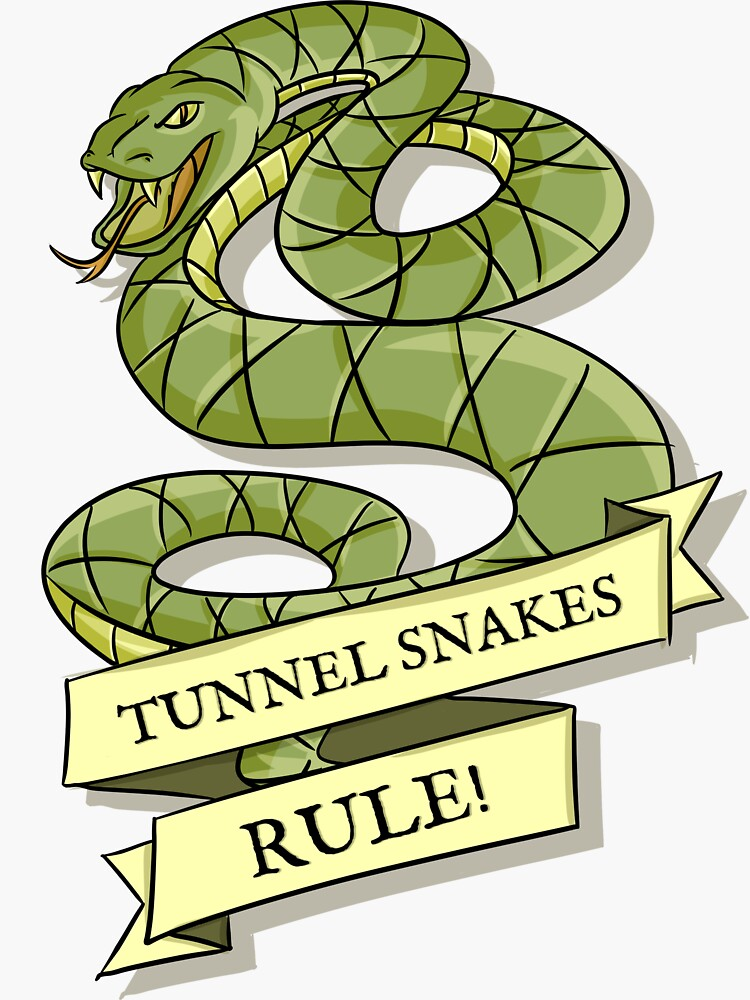 Tunnel Snakes Rule! by DonCorgi