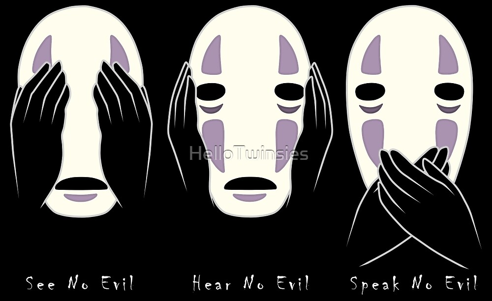 No Evil by HelloTwinsies