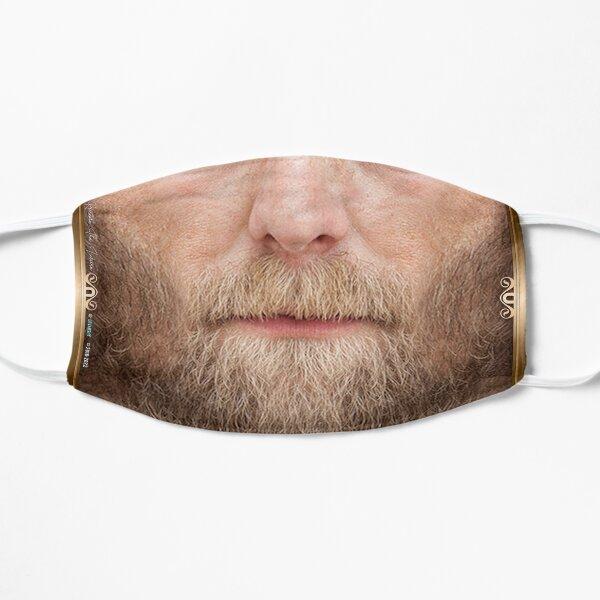 BLONDE Beard man FACE MASK White Male Mask