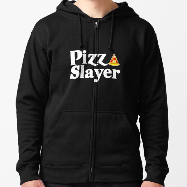 Savvy Turtle Pizza Slayer Zipped Hoodie