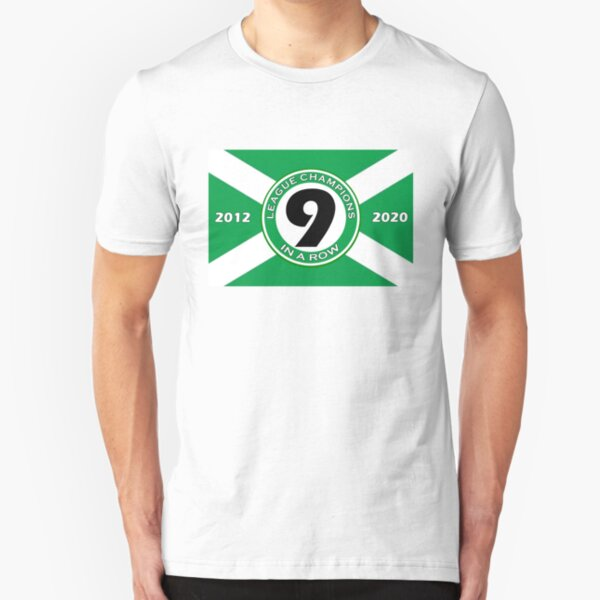 Celtic Nine In A Row Slim Fit T-Shirt