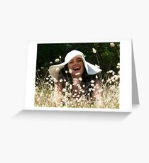 Laugh Greeting Card