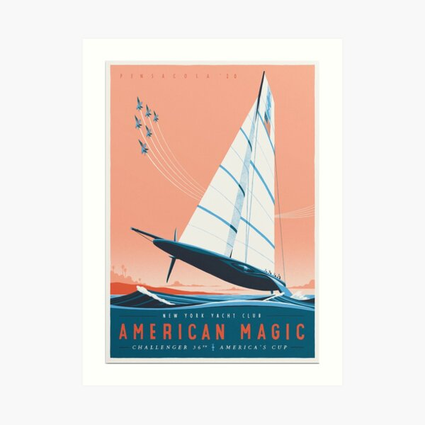 American Magic - America's Cup Team Poster Art Print