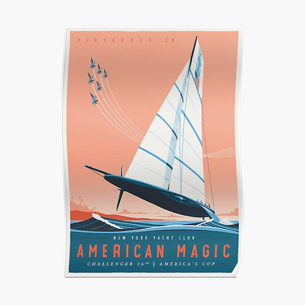 American Magic - America's Cup Team Poster Poster