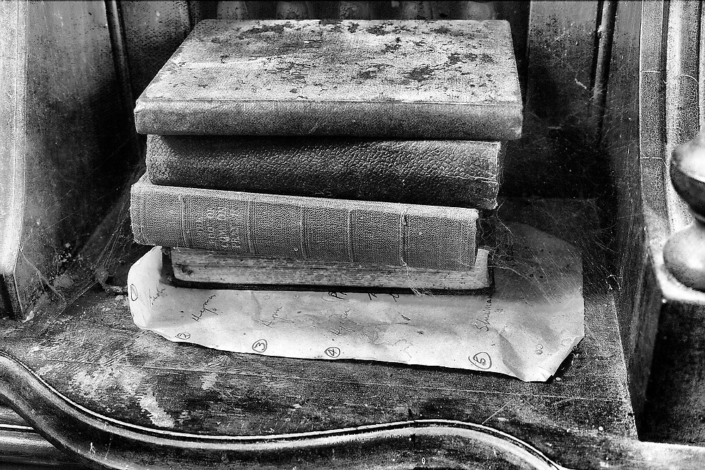 Old Books On The Organ by Dave Godden