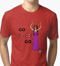 Go Lewis Go Tri-blend T-Shirt
