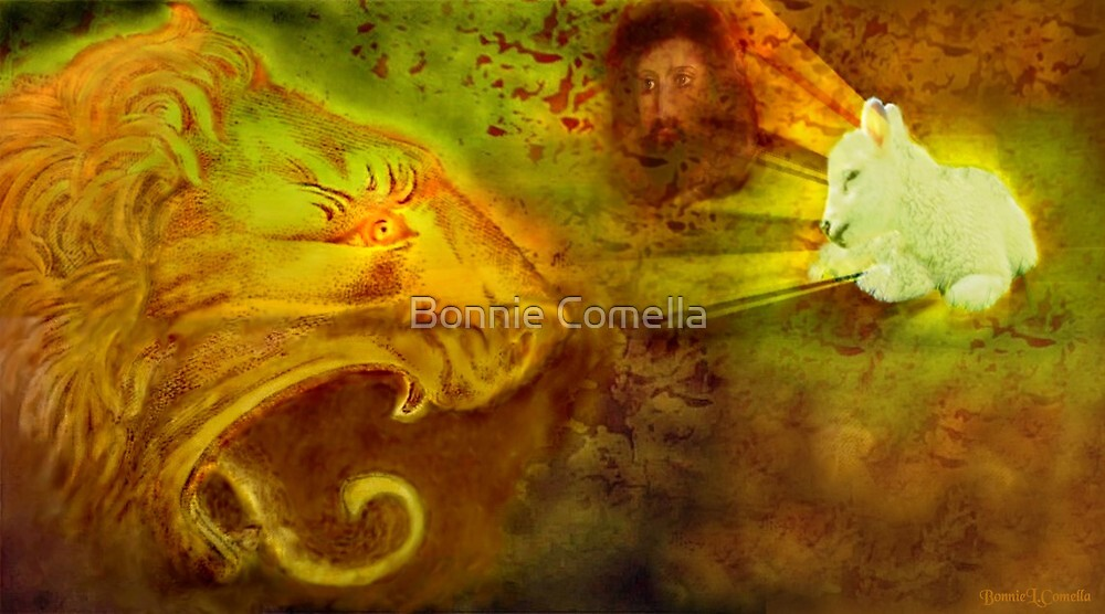 From the lion of the tribe of Judah comes...One Holy Lamb by Bonnie Comella