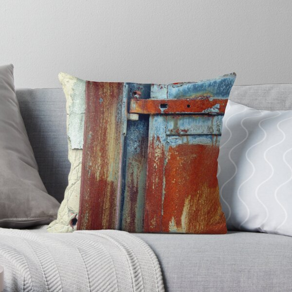 industrial decay Throw Pillow