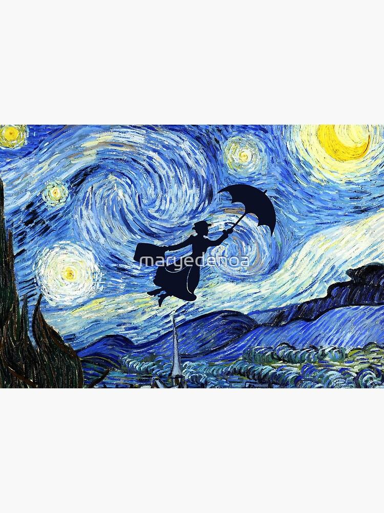 Mary Poppins Starry Night by maryedenoa