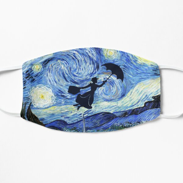 Mary Poppins Starry Night Mask