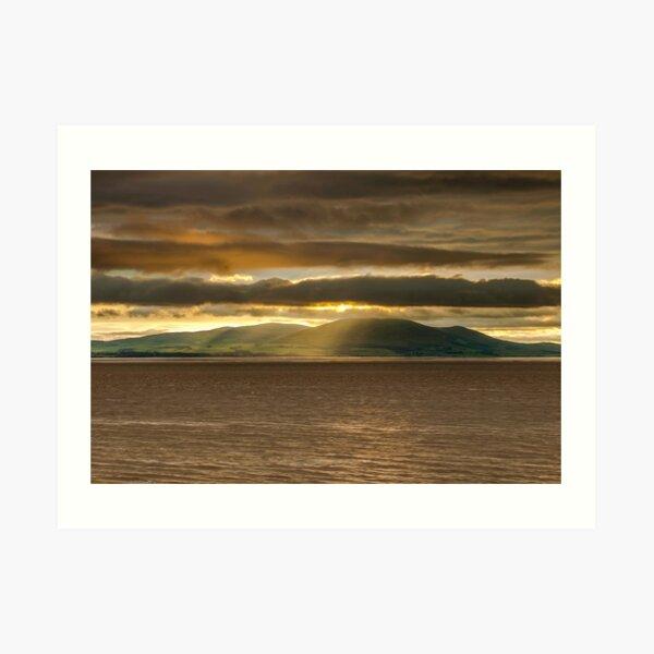 Criffel Rays Art Print