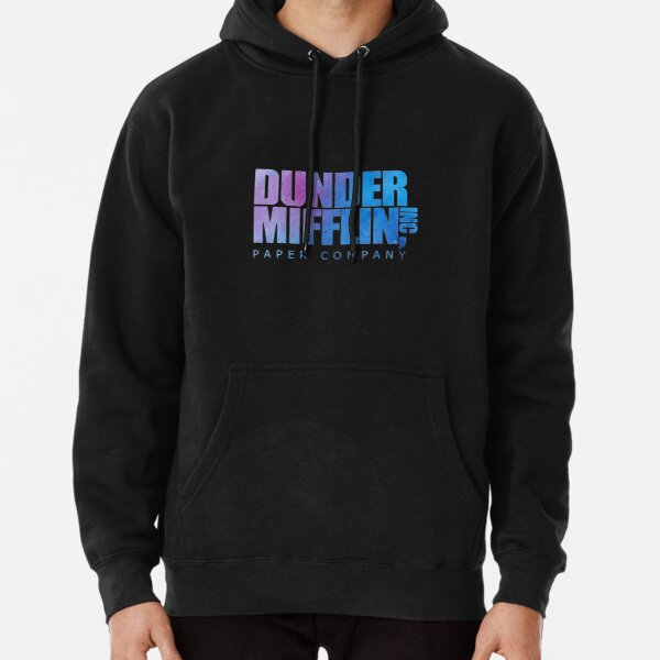 Dunder Mifflin Paper Company Inc The Office Logo Design Pullover Hoodie