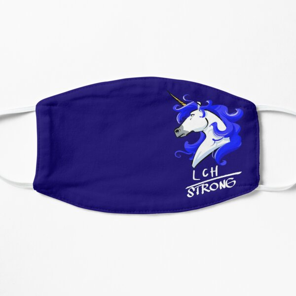 LCH Strong Unicorn For Langerhans Cell Histiocytosis Awareness Mask