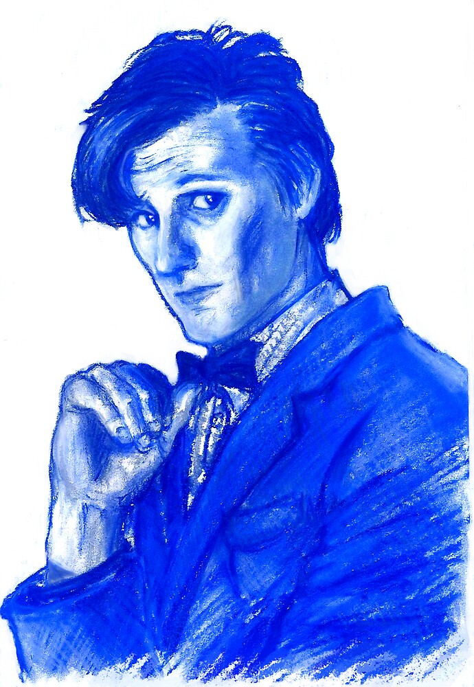 Doctor Who 11th - blue by ryoshka