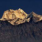 Himalayan Peak by Peter Hammer