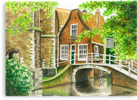 DELFT IN THE NETHERLANDS by RainbowArt