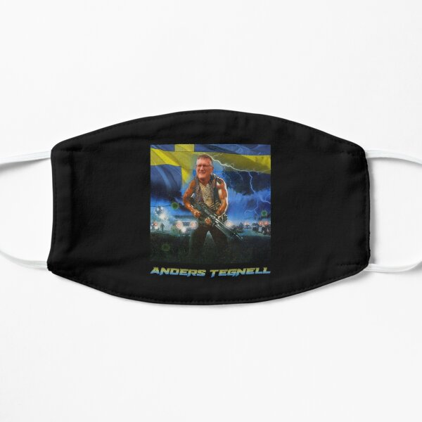 Anders Tegnell Action Hero Sweden Mask By Losttorpedo Redbubble