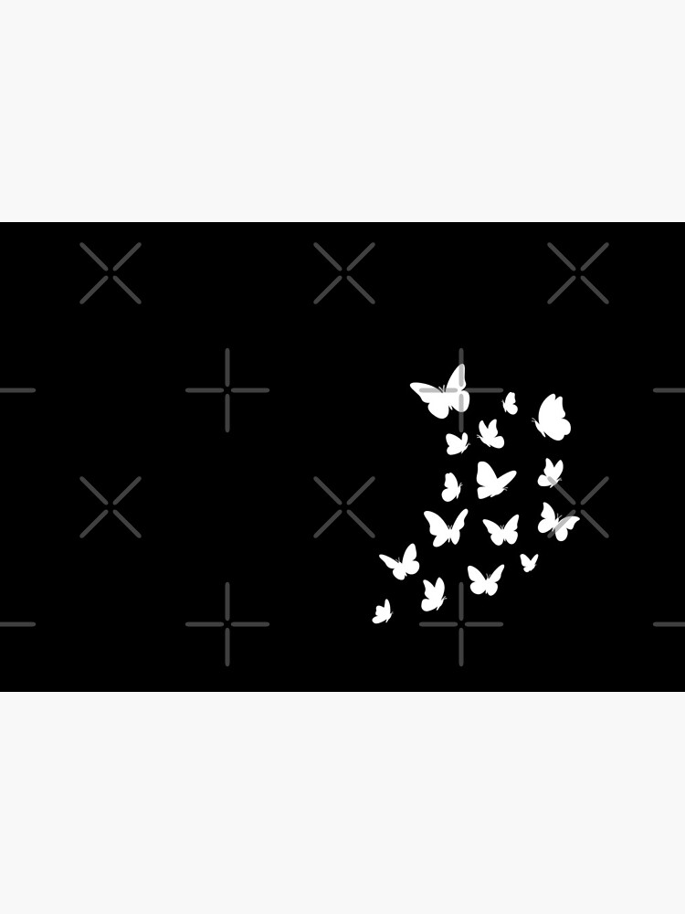 Butterflies, Cute Butterfly, White black, Dream Dreams, Beautiful Monarch, Nice Gift for Insects Lovers by Annona-