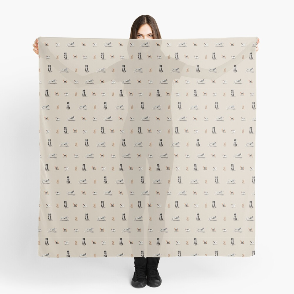 Dog Repeat Scarf