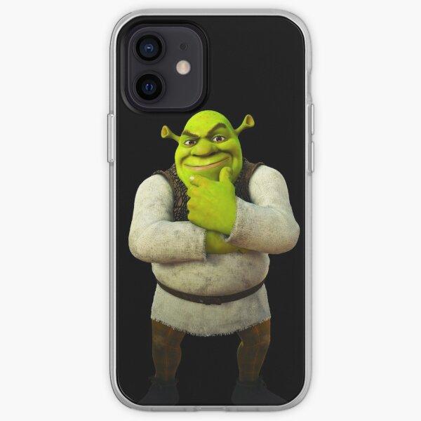 Shrek-stehende und denkende Pose iPhone Flexible Hülle