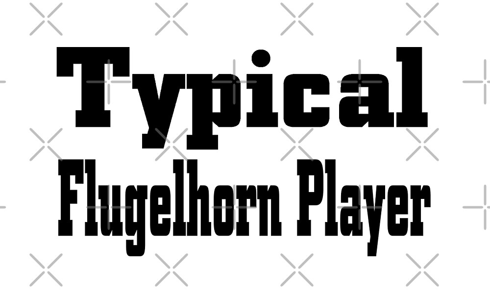 Flugelhorn by greatshirts