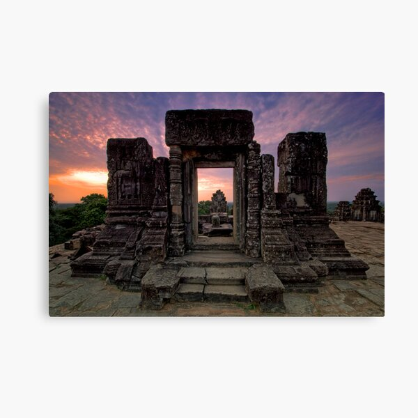 Phnom Bakheng, Hill Top Temple, Cambodia Canvas Print