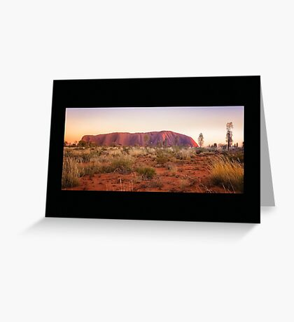 Uluru Sunrise Greeting Card
