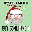 A Mystery Shack Christmas - Green by pondlifeforme