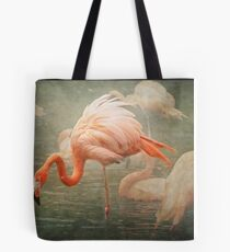 The Rosy Flamingo Tote Bag