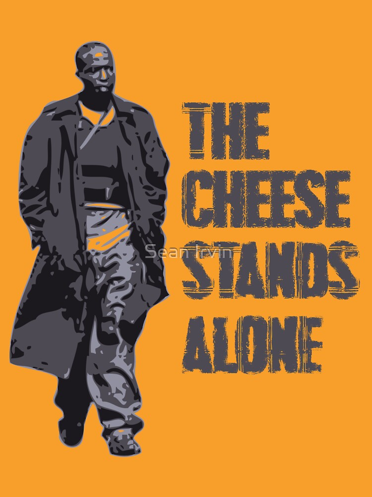 Omar Little - The Cheese Stands Alone | Unisex T-Shirt