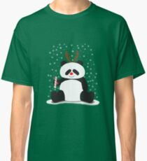 Merry Christmas, Panda! Classic T-Shirt