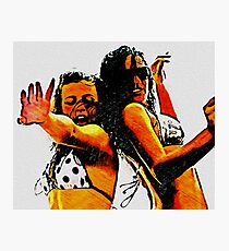 Rum Punch & Boat Dancers Photographic Print