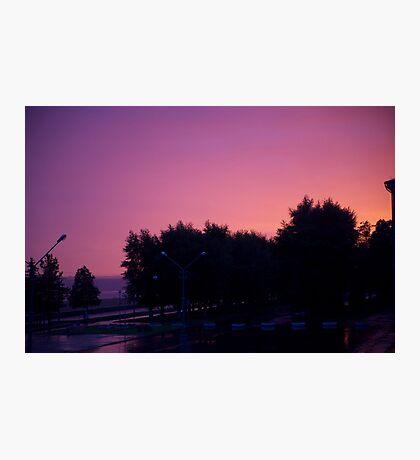 Great sunrise Photographic Print