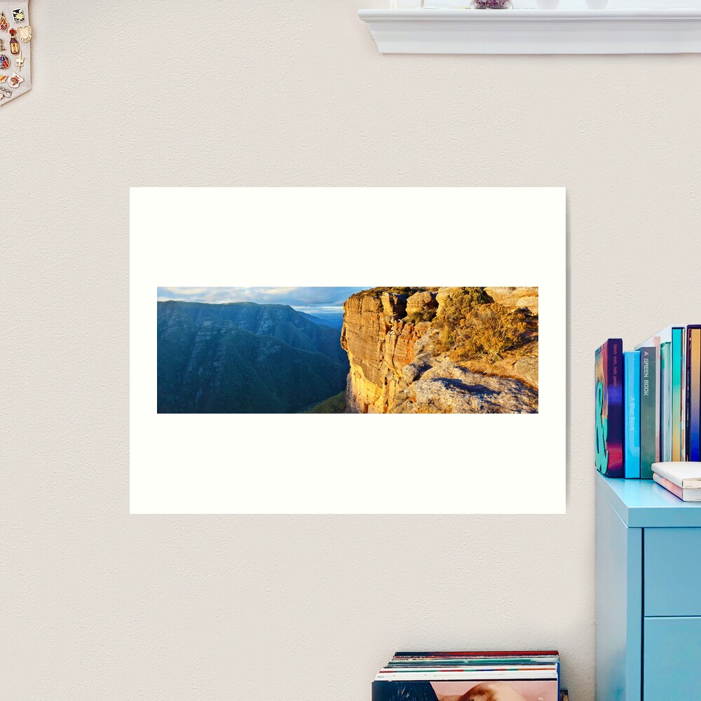 Kanangra Walls, Kanangra-Boyd National Park, New South Wales, Australia Art Print
