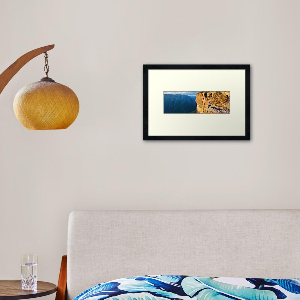 Kanangra Walls, Kanangra-Boyd National Park, New South Wales, Australia Framed Art Print