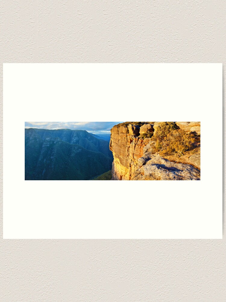 Alternate view of Kanangra Walls, Kanangra-Boyd National Park, New South Wales, Australia Art Print