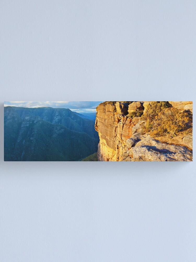 Alternate view of Kanangra Walls, Kanangra-Boyd National Park, New South Wales, Australia Canvas Print