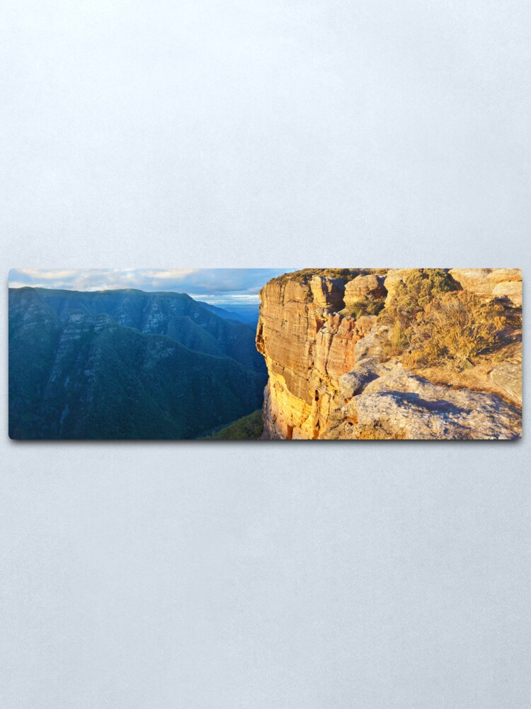 Alternate view of Kanangra Walls, Kanangra-Boyd National Park, New South Wales, Australia Metal Print