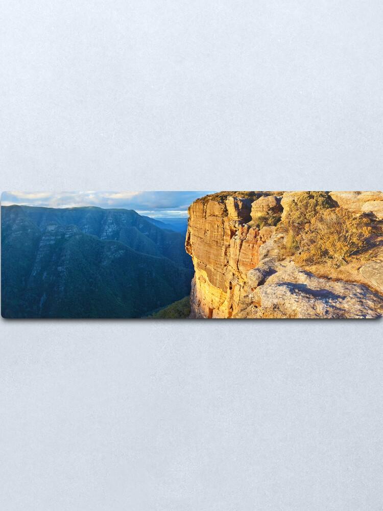 Alternate view of Kanangra Walls, Kanangra-Boyd National Park, New South Wales, Australia Metal Print