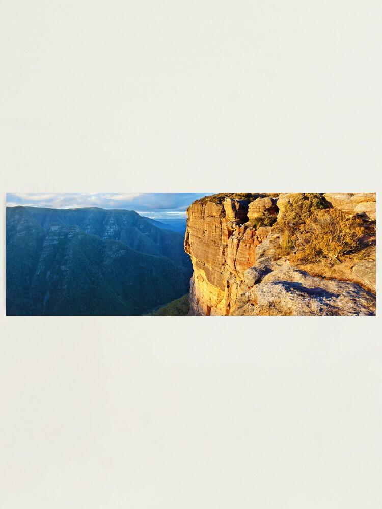 Alternate view of Kanangra Walls, Kanangra-Boyd National Park, New South Wales, Australia Photographic Print