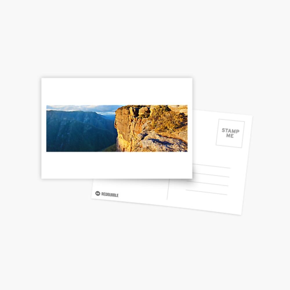 Kanangra Walls, Kanangra-Boyd National Park, New South Wales, Australia Postcard