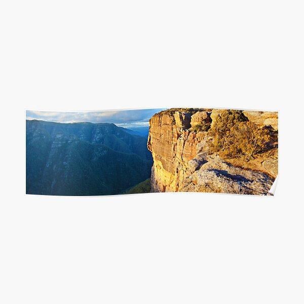 Kanangra Walls, Kanangra-Boyd National Park, New South Wales, Australia Poster