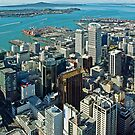 Sky Tower View by TonyCrehan
